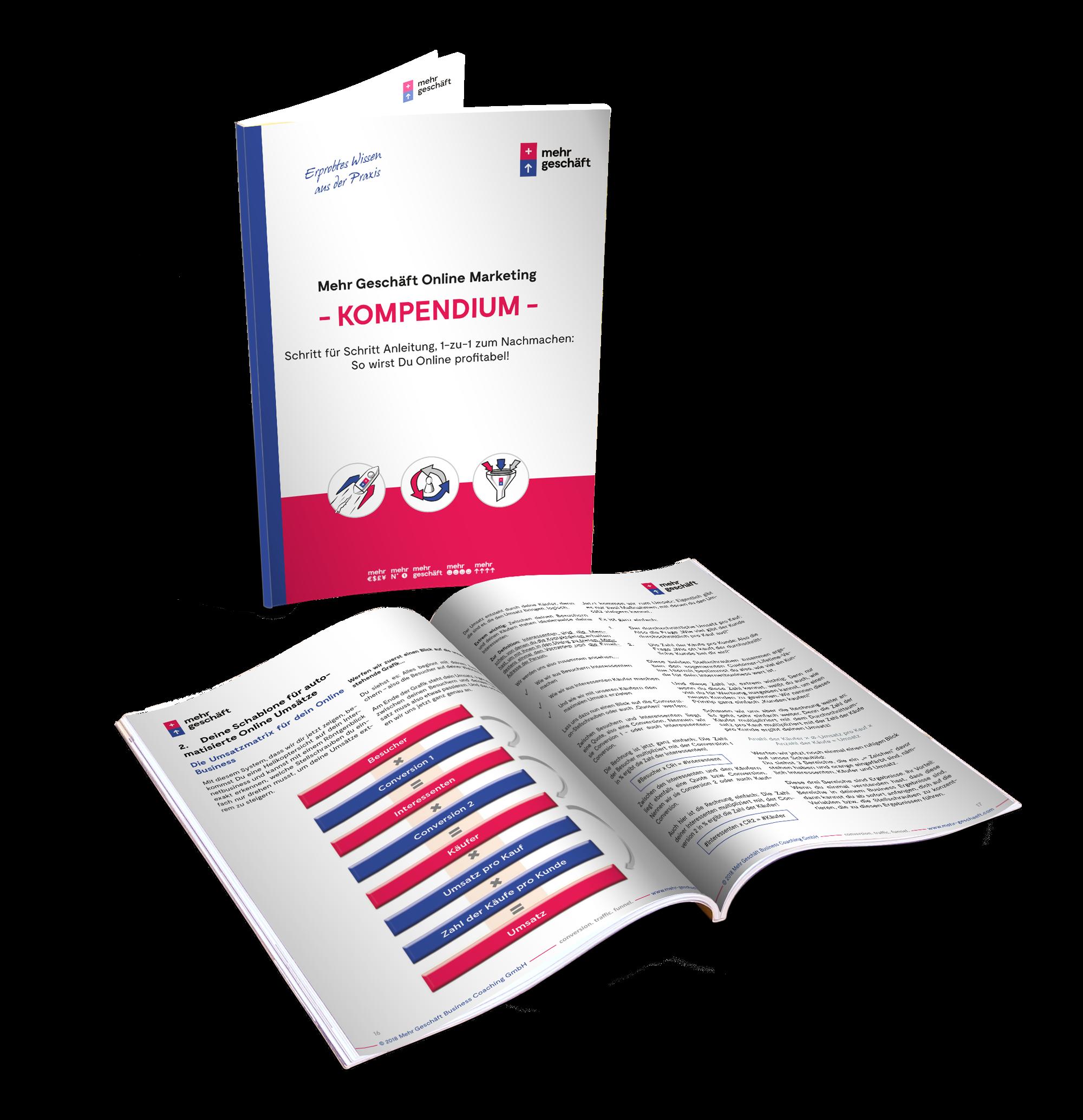 Buch zum Thema Online Marketing